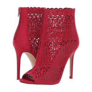 ALDO Kuniel red ankle boots bootie sexy